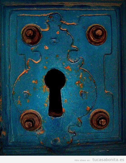 Cerraduras y pomos de puertas con preciosas decoraciones tu casa bonita - Cerraduras pomo para puertas ...