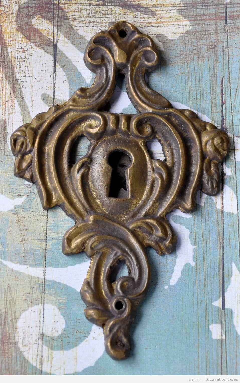 Puertas tu casa bonita ideas para decorar pisos modernos - Pomos con cerradura ...