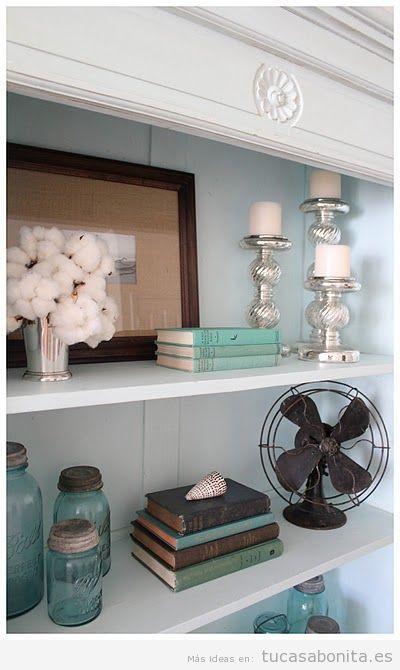 Objetos antiguos y vintage para decorar casas botellas radios ventiladores candiles y m s - Objetos decoracion ...