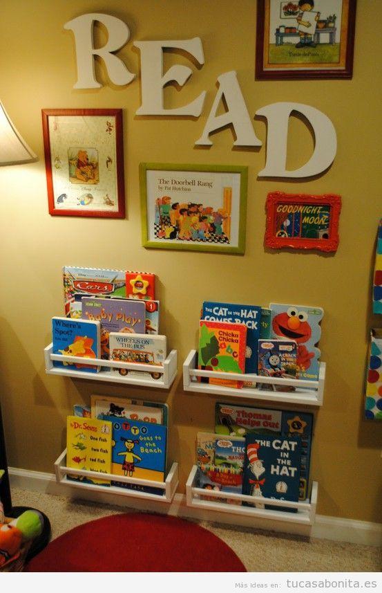 Letras grandes en pared para decorar habitación infantil 3