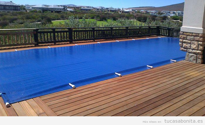 Cobertor pvc piscina