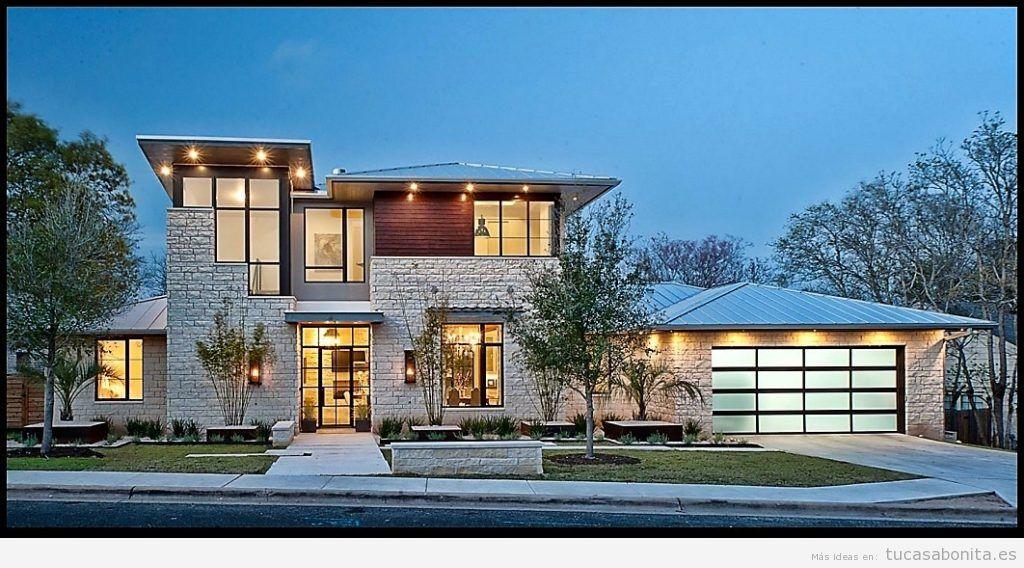 Ideas renovar fachadas de casa 8