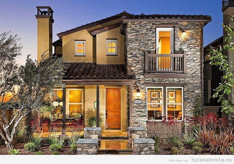Ideas renovar fachadas de casa 9