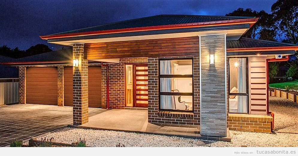 Ideas renovar fachadas de casa 10