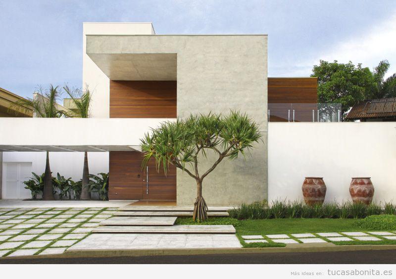 Ideas renovar fachadas de casa 14