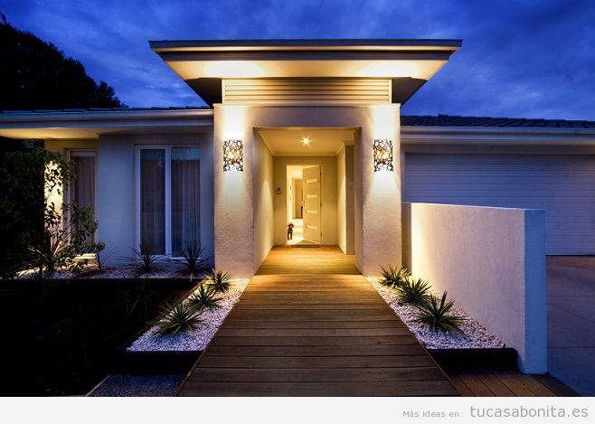 Ideas renovar fachadas de casa 22