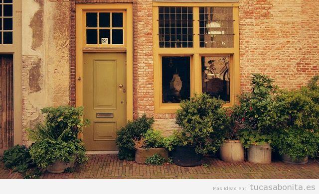 Ideas renovar fachadas de casa 17