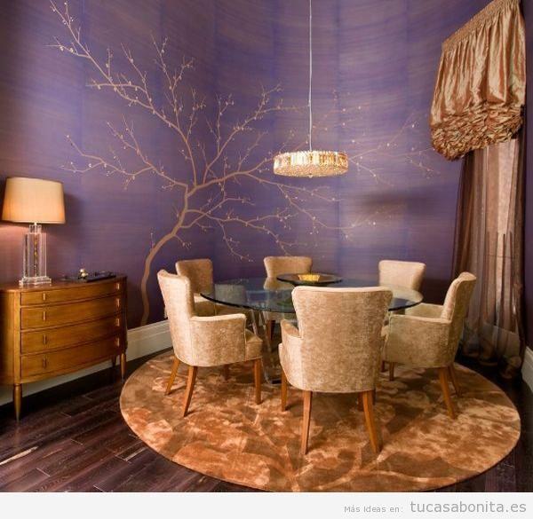 Murales pintados en las paredes de vuestra casa - Tu casa Bonita