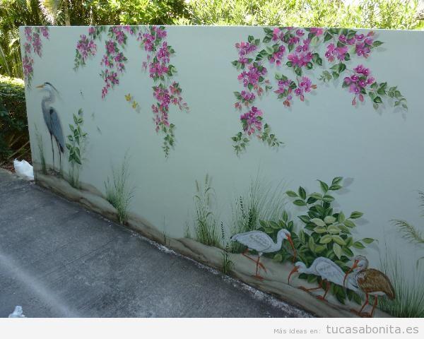 murales pintados en las paredes de vuestra casa tu casa