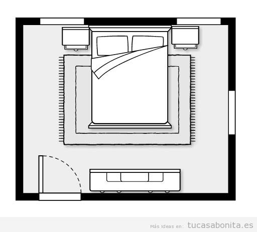 Feng shui, cómo orientar la cama