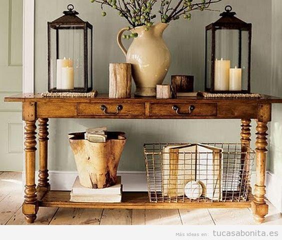 Como Decorar Una Casa De Campo Pequena Y Rustica Tu Casa Bonita - Decoracion-de-casas-de-campo