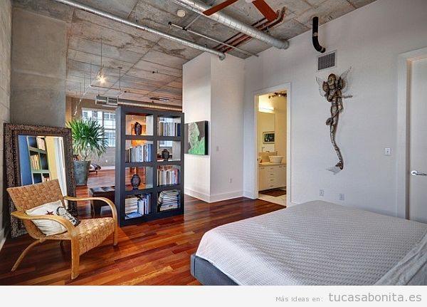 Cómo decorar un piso pequeño sin paredes o loft 9