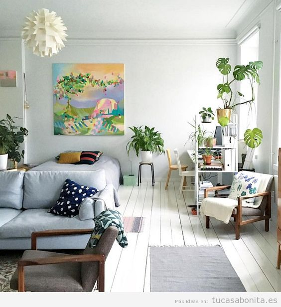 C mo decorar un apartamento peque o sin paredes 10 ideas for Como decorar un piso de 90 metros cuadrados
