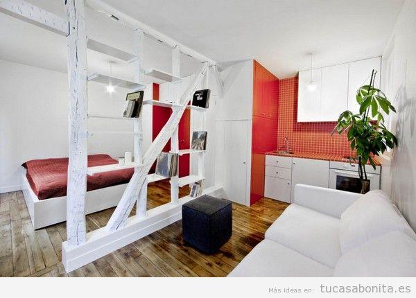 Cómo decorar un piso pequeño sin paredes o loft 8