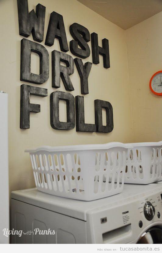 Letras grandes para decorar las paredes de casa de - Letras para pared ...