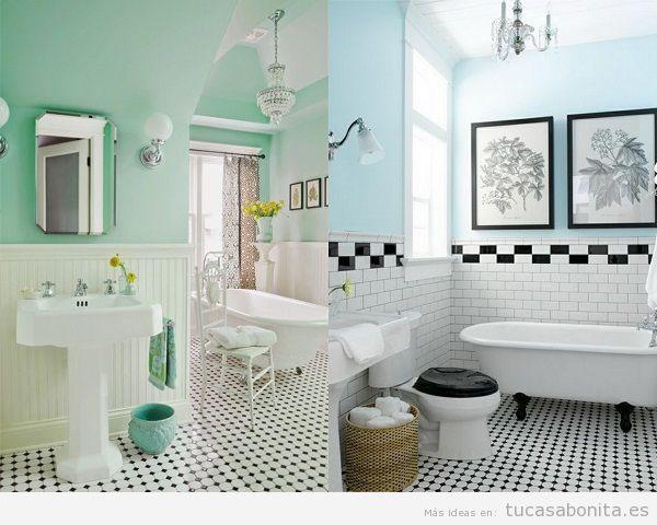Ideas y trucos para decorar tu casa de estilo moderna o for Banos en blanco y negro