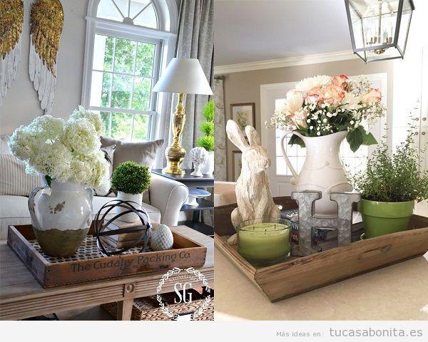 Decorar una mesa en verano - Como decorar una pared con madera ...