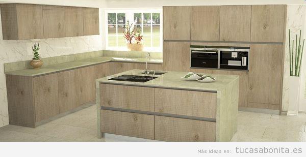 5 cocinas de ensue o con lasan decoraci n tu casa bonita - Muebles de cocina lasan ...