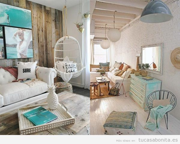 Ideas para decorar un apartamento en la playa 2