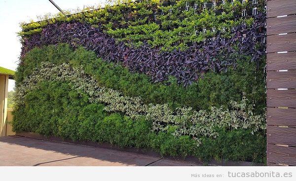 Jardiner a vertical belleza aislamiento y adecuaci n al for Jardines verticales para exteriores