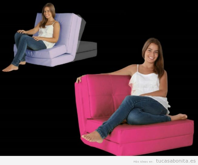 Puff sillón reclinable