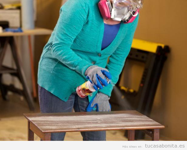 Tutorial restaurar mueble paso 1