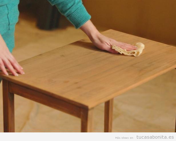 Tutorial restaurar mueble paso 5