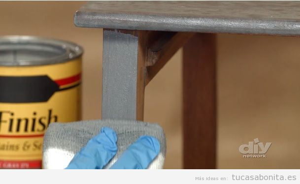 Tutorial restaurar mueble paso 6