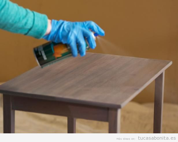 Tutorial restaurar mueble paso 8