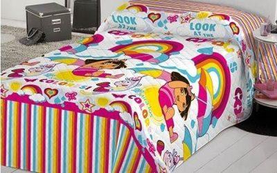 Colchas infantiles que darán un ambiente mágico al dormitorio