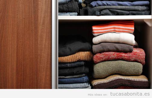 Consejos organizar armario otoño invierno