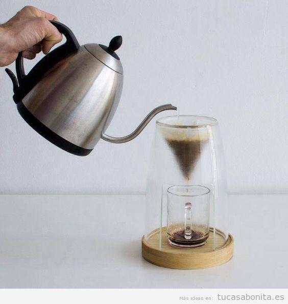 Cafeteras de diseño creativo