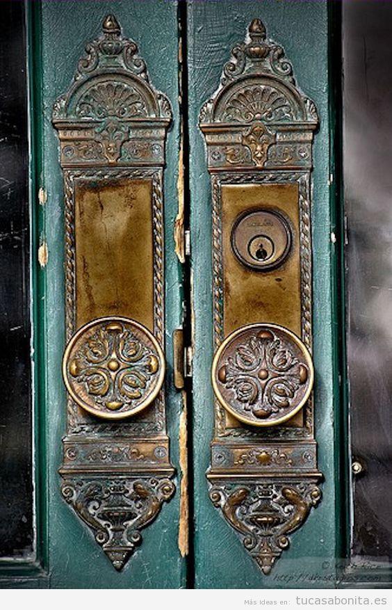 Cerradura vintage bonita