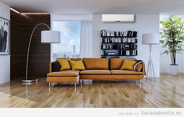 Consejos reformar salón casa, aire acondicionado