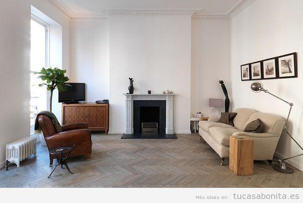 Consejos reformar salón casa, suelo parquet