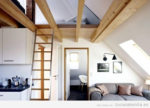 Consejos reformar salón casa, techos bigas