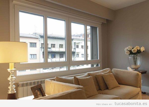 Consejos reformar salón casa, ventanas pvc