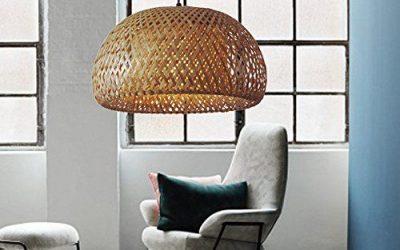 Lámparas de bambú que son tendencia esta temporada a partir de 50€ y hasta 155€