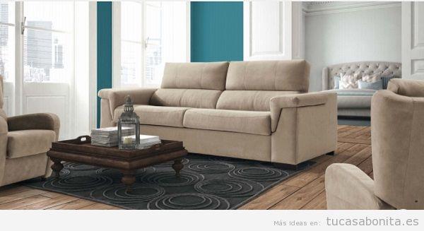 Ideas y trucos para decorar tu casa de estilo moderna o - Sofa cama clasico ...