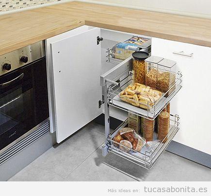 Bandejas extraíbles armarios cocina 2