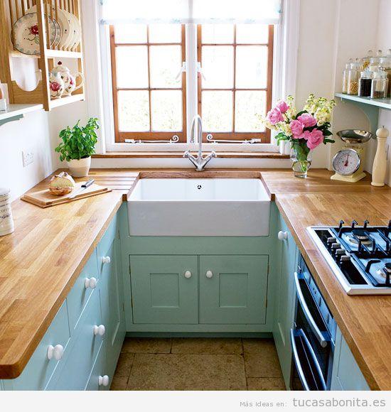 Cocinas peque as bonitas tu casa bonita for Cocinas integrales bonitas