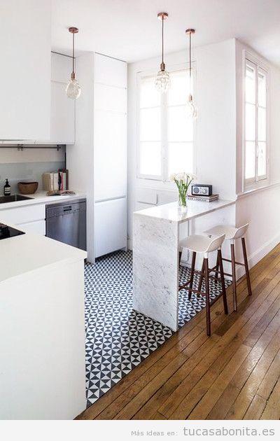 Cocinas peque as bonitas tu casa bonita for Cocinas muy pequenas modernas