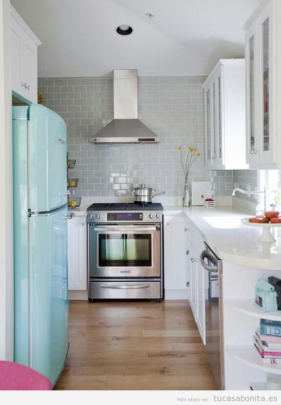 Cocinas pequeñas y modernas 7