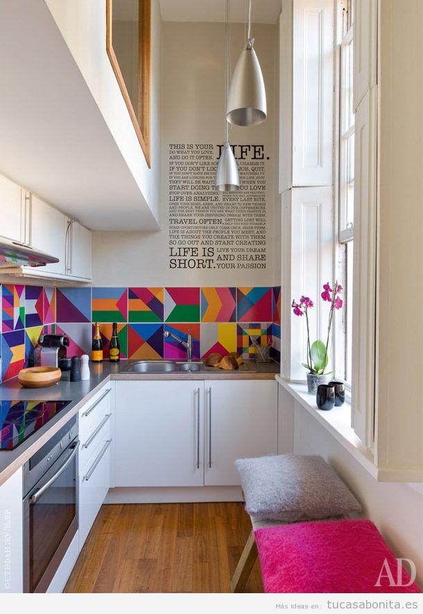 Cocinas pequeñas y modernas 8