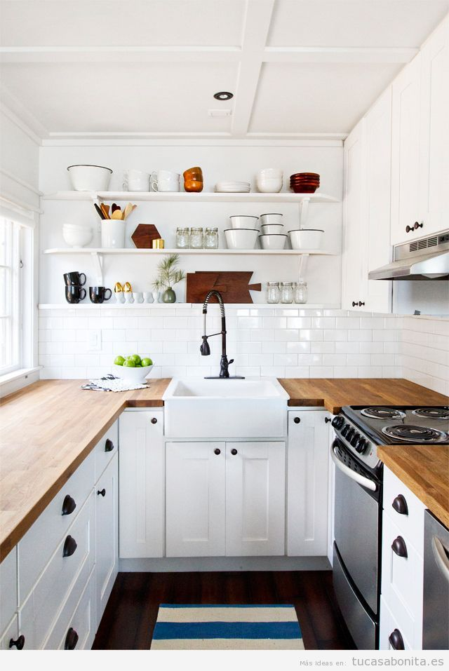 Cocinas pequeñas bonitas - Tu casa Bonita