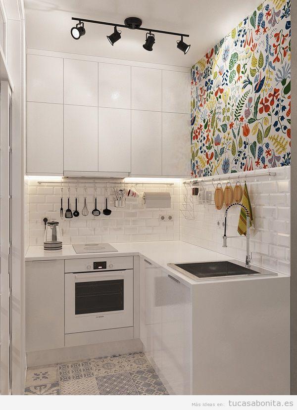 cocinas pequeas y modernas - Cocinas Modernas Pequeas