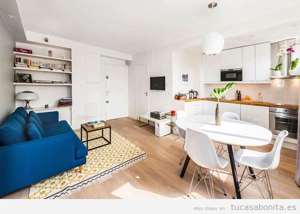 Cocinas peque as bonitas tu casa bonita - Butacas pequenas para salon ...