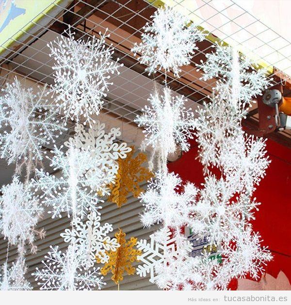 Comprar copos nieve navidad barata