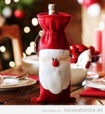 Cubrebotellas Navidad barato