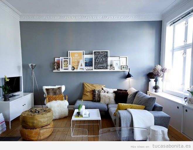 Consejos amueblar y decorar sala de estar pequeña 9